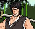 סמוראי כובע קש 3