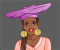מעצבת אופנה באפריקה